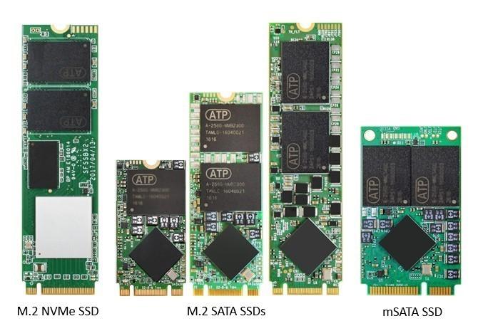 tipos de conexión msata y m.2