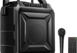 Altavoz portátil con micrófono