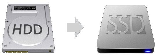 Clonar el disco HDD al nuevo SSD