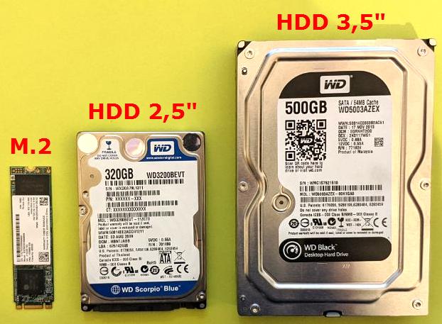 Tipos de discos SSD y conexiones