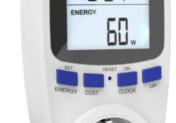 Medidor de consumo eléctrico (o vatiómetro)